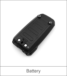 Portable Two Way Radio Battery